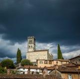 Duomo, Barga, Tuscany Zdjęcie Stock