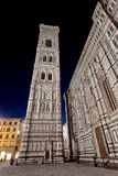 Duomo Basilica di Santa Maria del Fiore Florence Firenze Tuscany Italy night Royalty Free Stock Images