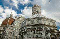 The Duomo - Basilica of Saint Mary of the Flower Stock Photography