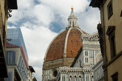 The Duomo - Basilica of Saint Mary of the Flower Stock Photo