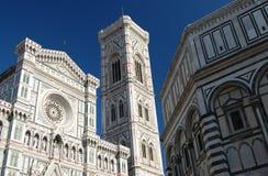 Duomo, Campanile en de Doopkapel Royalty-vrije Stock Foto