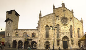 The Duomo Cathdral Como Italy Royalty Free Stock Photo