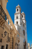 Duomo Cathedral of Altamura. Puglia. Italy. Royalty Free Stock Photography