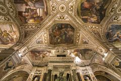 The Duomo, cathedral of Amalfi, campania, Italy Royalty Free Stock Photo