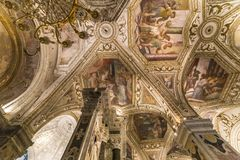 The Duomo, cathedral of Amalfi, campania, Italy Royalty Free Stock Image
