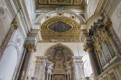 The Duomo, cathedral of Amalfi, campania, Italy royalty free stock photos