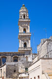 Duomo Cathedral' Belltower. Maglie. Puglia. Italy. Stock Photography