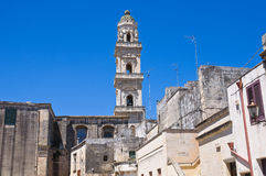 Duomo Cathedral Belltower. Maglie. Puglia. Italy. Royalty Free Stock Photography
