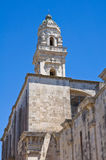 Duomo Cathedral Belltower. Maglie. Puglia. Italy. Royalty Free Stock Images