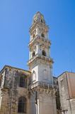Duomo Cathedral Belltower. Maglie. Puglia. Italy. Stock Photography