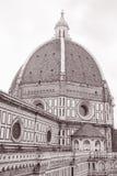 Duomo Cathedral Church Dome, Florence Stock Photos