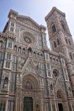 Duomo Cathedral Facade Florence Italy Stock Photo
