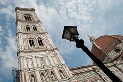 Duomo cathedral florence. The Basilica di Santa Maria del Fiore (English, Basilica of Saint Mary of the Flower) is the main church of Florence, Italy. Il Duomo Royalty Free Stock Photography