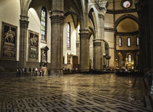 Duomo cathedral Florence inside Royalty Free Stock Photography