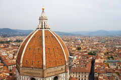 Duomo cathedral in Florence. Italy Royalty Free Stock Photos