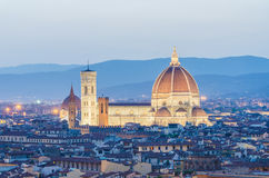Duomo Cathedral in Florence Royalty Free Stock Photo