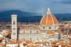 Duomo cathedral in Florence Royalty Free Stock Photos