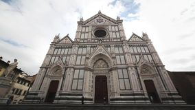 The Duomo Cathedral in Florence stock video