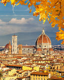 Duomo cathedral in Florence Royalty Free Stock Image