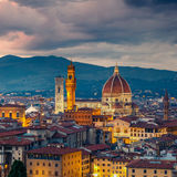 Duomo cathedral in Florence Royalty Free Stock Images