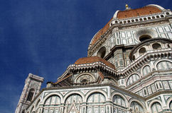 Duomo (Cathedral) of Florence. A photo of the duomo of Florence royalty free stock photography