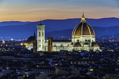 Duomo (cathedral), Florence, Tuscany Stock Images