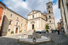Free Duomo Cathedral In Potenza Stock Photography - 61242362