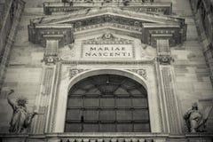 Duomo cathedral of Milan - detail Stock Photos