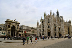 Duomo Cathedral Milan Royalty Free Stock Photo