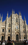 Duomo Cathedral in Milan, Italy Stock Image