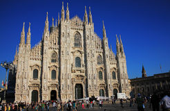 Duomo Cathedral in Milan, Italy Stock Photo