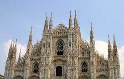 Duomo Cathedral Milan Italy Stock Photos