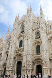 Duomo cathedral in Milan Stock Images