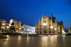 Duomo cathedral in Milan, Italy Royalty Free Stock Photos