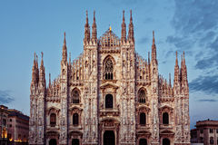 Duomo Cathedral in Milan, Italy Stock Photos