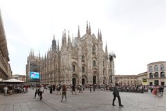 Duomo Cathedral Milan Royalty Free Stock Image