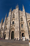 Duomo Cathedral of Milan Italy Stock Photo