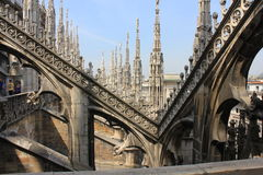 Duomo Cathedral in Milan Royalty Free Stock Images