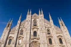 Duomo Cathedral of Milan Italy Royalty Free Stock Photos