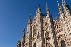 Duomo Cathedral of Milan Italy Stock Images