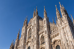 Duomo Cathedral of Milan Italy Royalty Free Stock Photography
