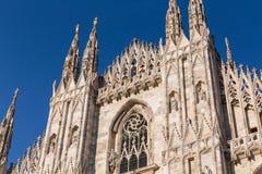 Duomo Cathedral of Milan Italy Stock Photos
