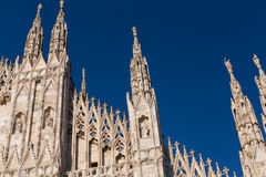 Duomo Cathedral of Milan Italy Stock Image