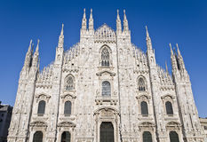 Duomo Cathedral, Milan, Italy Royalty Free Stock Photos