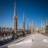 Duomo cathedral of Milan Stock Photography