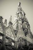 Duomo cathedral of Milan - steeple detail Royalty Free Stock Image