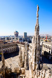 Duomo cathedral of Milan Stock Photos