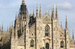 'Duomo' Cathedral, Milano, Italy Stock Photo