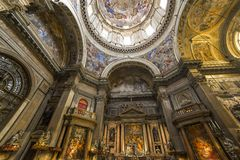 The Duomo, cathedral of Naples, campania, Italy Stock Photography