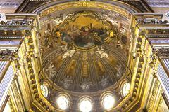 The Duomo, cathedral of Naples, campania, Italy Stock Image